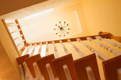Escadaria de madeira Imagens de Stock Royalty Free