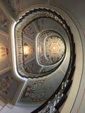 Escadaria de Nouveau da arte imagens de stock royalty free