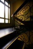 Escadaria de Nouveaux da arte fotografia de stock royalty free