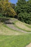 Escadaria de pedra que conduz Chartwell Winston Churchill Home Imagem de Stock