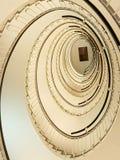 Escadaria de Sprial fotografia de stock royalty free