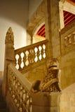 Escadaria dentro da casa dos escudos imagens de stock royalty free