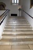 Escadaria do cano principal de Leeds Castle fotografia de stock