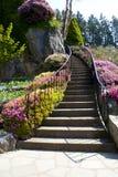 Escadaria do jardim Imagens de Stock