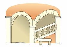 Escadaria do renascimento Fotografia de Stock