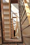 Escadaria do retângulo Imagens de Stock