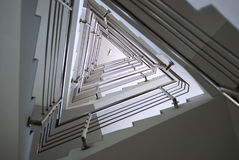 Escadaria do triângulo Imagens de Stock Royalty Free