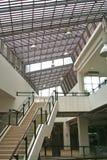 Escadaria e clarabóia foto de stock royalty free
