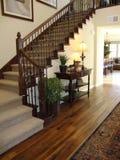 Escadaria e entrada bonitas imagens de stock