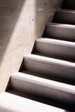 Escadaria e sombras concretas Foto de Stock Royalty Free