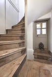 Escadaria em uma casa Georgian Foto de Stock