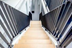 Escadaria em uma construção fotos de stock