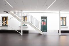 Escadaria em uma construção fotografia de stock