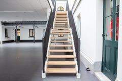 Escadaria em uma construção fotografia de stock royalty free
