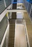 Escadaria em uma construção imagem de stock royalty free