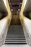 Escadaria em uma estação Imagens de Stock Royalty Free