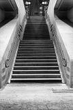 Escadaria em uma estação Imagem de Stock