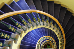 Escadaria espiral Fotos de Stock Royalty Free