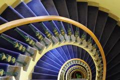 Escadaria espiral fotos de stock royalty free