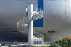 Escadaria espiral Imagens de Stock Royalty Free