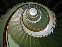 Escadaria espiral Fotos de Stock