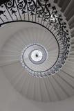 Escadaria espiral bonita Imagens de Stock Royalty Free