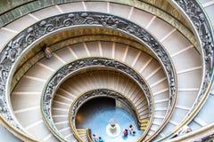 Escadaria espiral de hélice dobro Fotografia de Stock Royalty Free
