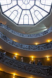 A escadaria espiral dobro monumental Foto de Stock Royalty Free