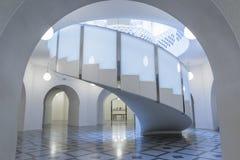 Escadaria espiral em Tate Britain em Londres fotografia de stock