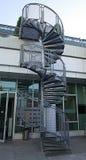 Escadaria espiral externo Foto de Stock