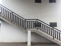 Escadaria - estrutura fotos de stock royalty free