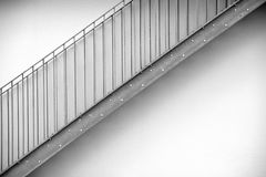 Escadaria exterior Fotografia de Stock Royalty Free