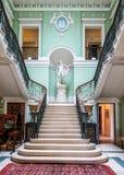 A escadaria imperial, casa de Sledmere, Yorkshire, Inglaterra fotografia de stock royalty free