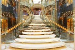 Escadaria luxuosa Imagens de Stock Royalty Free