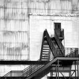Escadaria menos do que o céu Fotografia de Stock Royalty Free