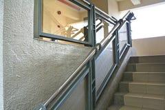 Escadaria moderna Foto de Stock Royalty Free