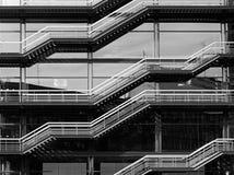 Escadaria moderna foto de stock