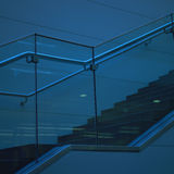 Escadaria moderna imagens de stock royalty free