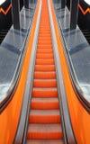 Escadaria movente fotografia de stock