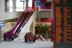 Escadaria movente fotografia de stock royalty free