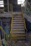 Escadaria na fábrica Fotografia de Stock