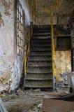 Escadaria na fábrica Imagem de Stock Royalty Free