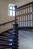 Escadaria na igreja Bayreuth da cidade fotos de stock