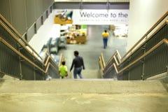 Escadaria na loja Fotos de Stock