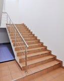 Escadaria no interior imagem de stock royalty free