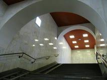 Escadaria no metro Imagem de Stock Royalty Free