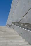 Escadaria no parque olímpico da escultura imagens de stock