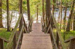 Escadaria nos montes Foto de Stock Royalty Free