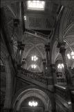 Escadaria principal - Glasgow City Chambers foto de stock royalty free