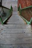 Escadaria rústica Fotos de Stock Royalty Free